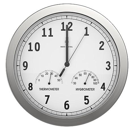 c9995628a13 bonvivo TIMERIDER Orologio da Parete Radiocomandato Ad Alta Precisione