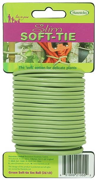 Beautiful Tierra Garden 50 3010 Haxnicks Slim Soft Tie, 26.3u0027, Green