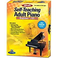 Alfred's Self-Teaching Adult Piano Beginner's Kit