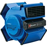 Lasko High Velocity X-Blower Air Mover Utility 3-Speed 6-Position Fan with Electronic Controls, 370 CFM, 120 Volt, ETL Listed