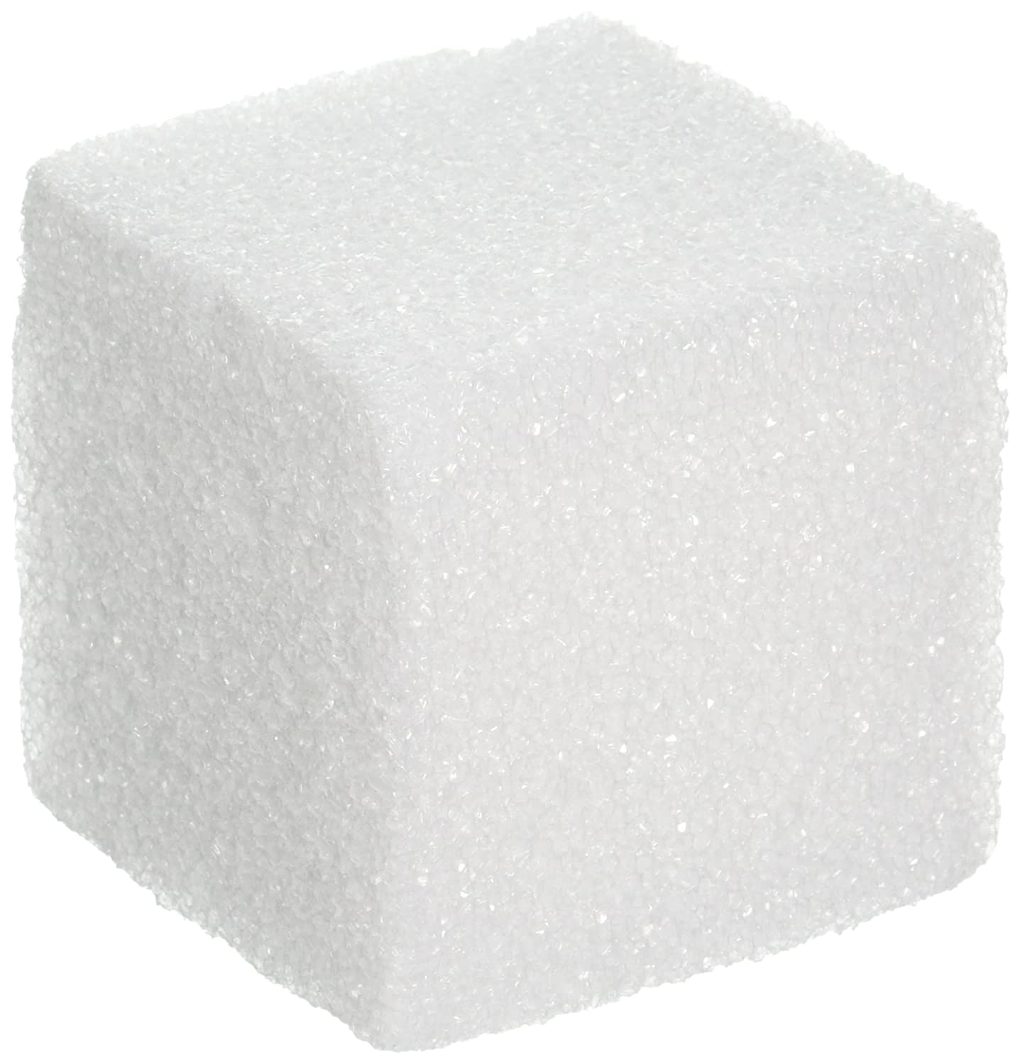 FloraCraft Styrofoam Shrink Wrapped Cube 3x3