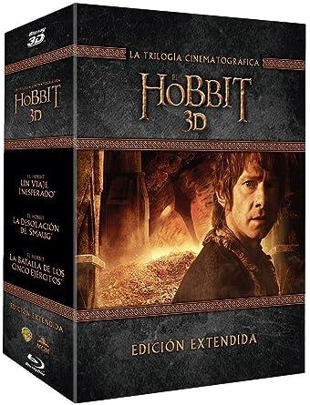 Trilogia El Hobbit Extendida Blu-Ray 3d [Blu-ray]: Amazon.es ...
