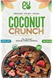 NUCO Certified ORGANIC Paleo Gluten Free Coconut Crunch Cereal, 1 Box, 10.58 OZ