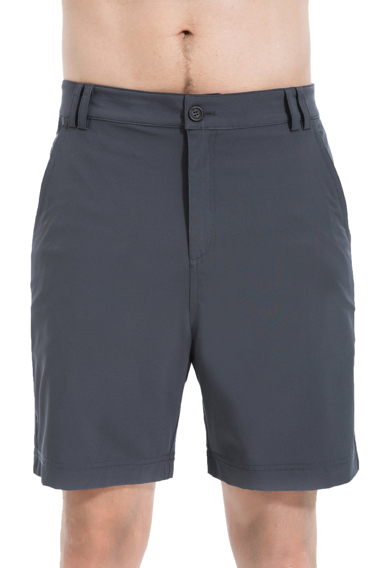 Trailside Supply Co. Men's Ripstop Basic Stretchy Casual Short-Charcoal-34