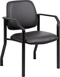 Boss Office Products Chairs Guest Seating, Black