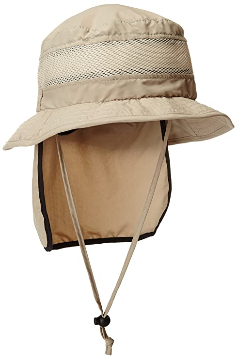 dd8289d5 Stetson Men's Insect Shield Flap Boonie Hat at Amazon Men's Clothing store: