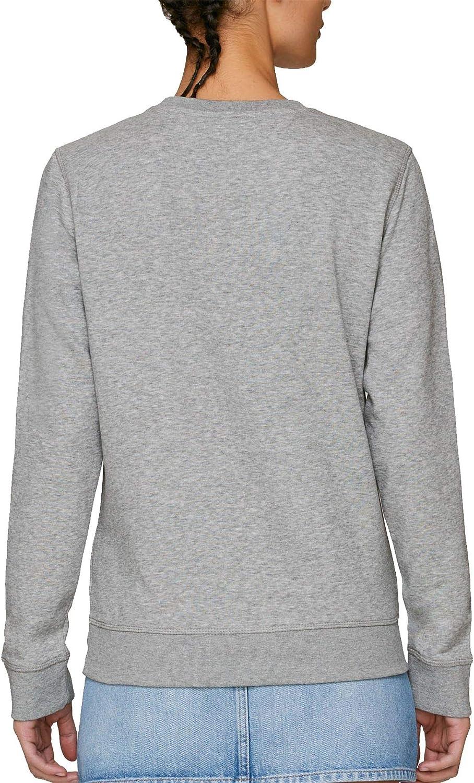 Captain America Distressed Logo Adults Unisex Grey Sweatshirt