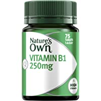 Nature's Own Vitamin B1 250mg - Aids Glucose Metabolism - Assists in Energy Production - Supports Nervous System