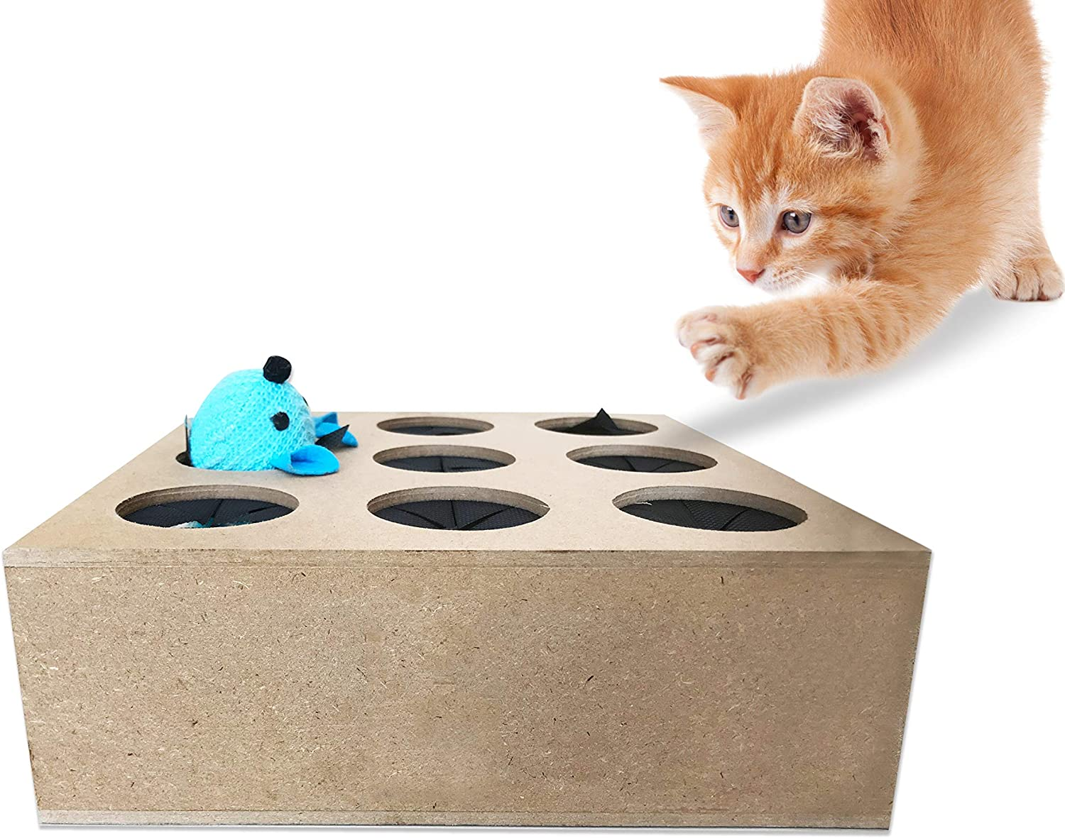 Hugs, Whack A Mouse Interactive Cat Toy