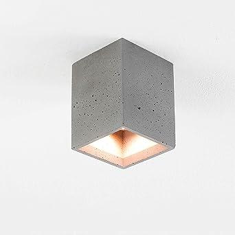 Techo Foco hormigón gris compacta rectangular urbaner estilo ...