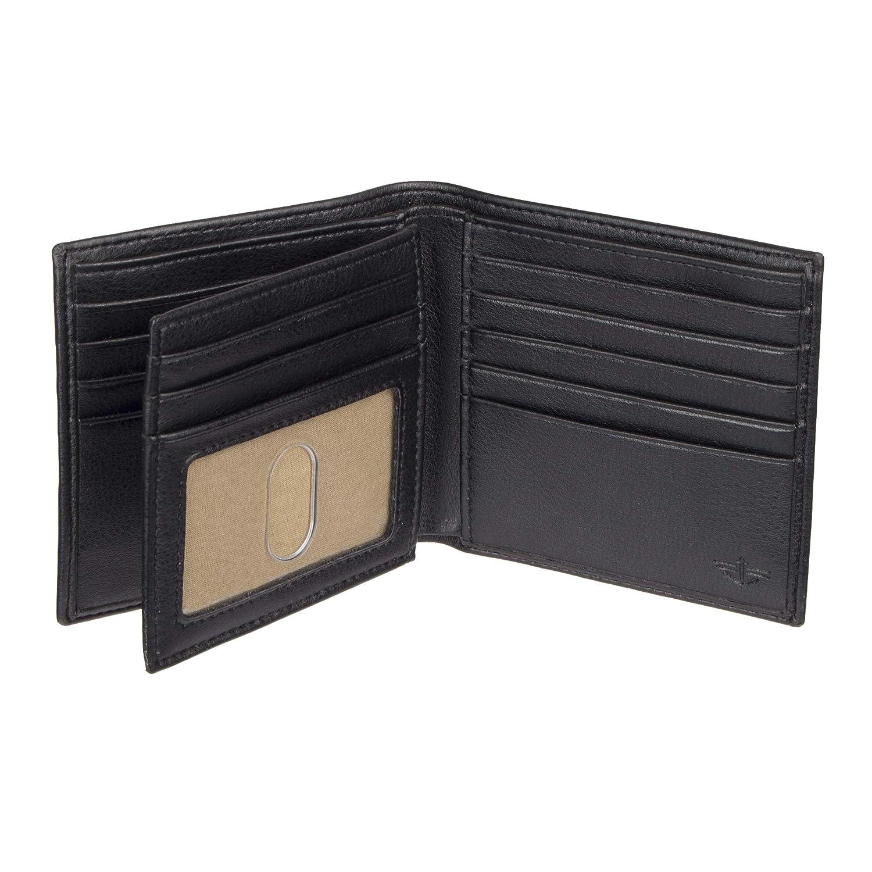 Dockers Hipster - Billetera para hombre con capacidad extra - negro - talla única: Amazon.es: Ropa y accesorios