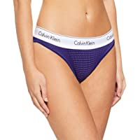 Calvin Klein Women's Modern Cotton Perforated Micro Bikini