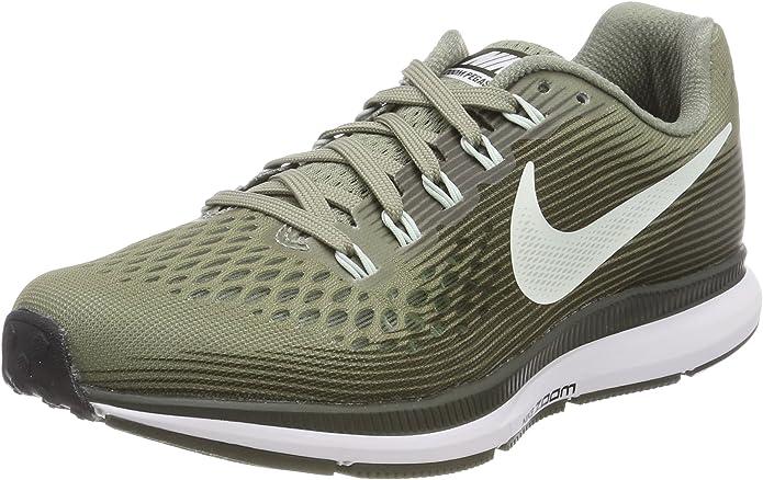 Nike Wmns Air Zoom Pegasus 34, Zapatillas de Running para Mujer, Multicolor (Dark Stucco/Barely G 007), 40 EU: Amazon.es: Zapatos y complementos