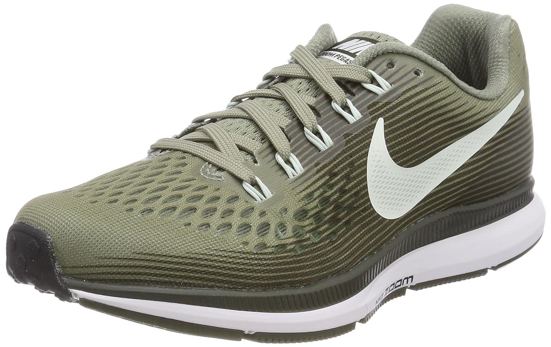 Nike Wmns Air Zoom Pegasus 34, Zapatos para Correr para Mujer 39 EU Multicolor (Dark Stucco/Barely G 007)