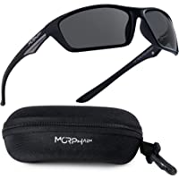Polarized Sports Sunglasses for Men & Women - UV Protection and Anti Glare - Ideal for Driving Fishing Golf Baseball…