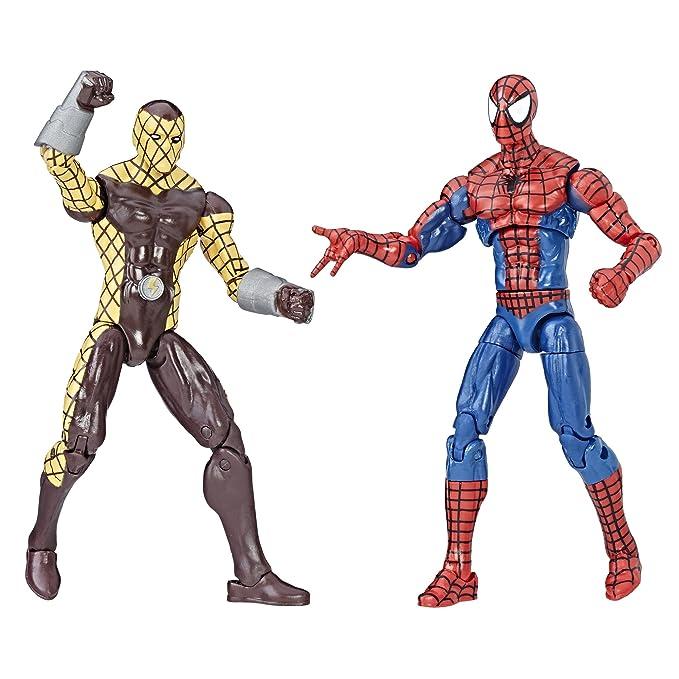 Figurine Lot Avengers C1406eu40 Spiderman 10 Marvel Cm Legends UMpSqzV