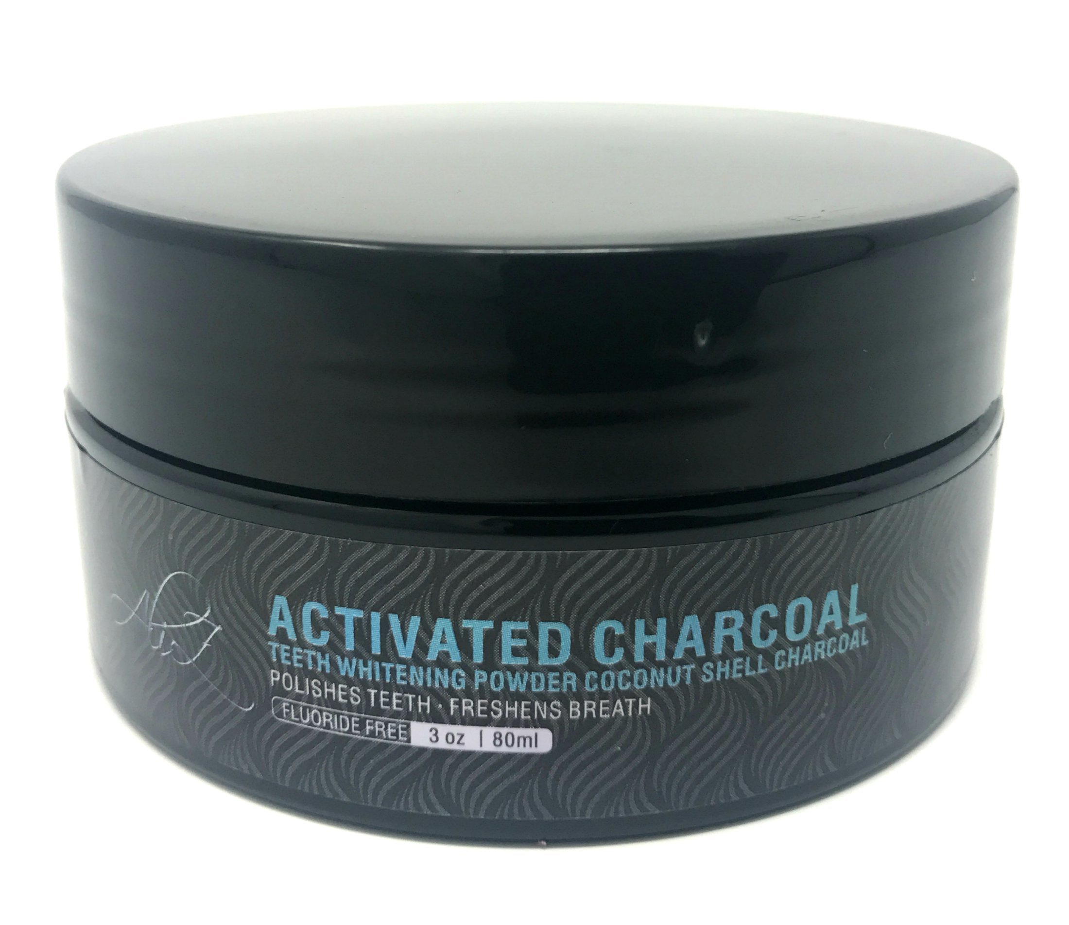 Teeth Whitening Activated Charcoal Powder - Natural Teeth Whitener with Coconut Charcoal, 3 oz