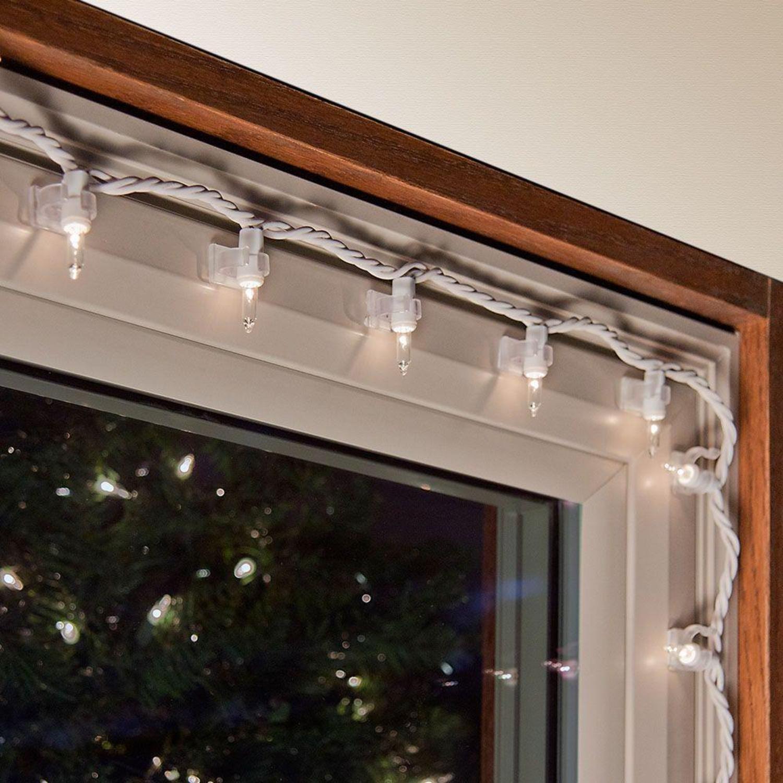 indoor christmas lighting. Amazon.com: 25ct Mini Christmas Light Indoor Adhesive Clips: Home \u0026 Kitchen Lighting A