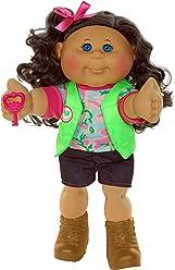 "Cabbage Patch Kids 14"" Kids - Brunette Hair/Blue Eye Girl Doll in Adventure Fashion"