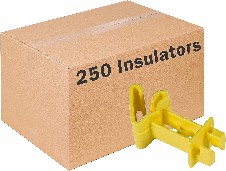 Yellow Zareba IT5XY-Z Snap-On Extender Insulator