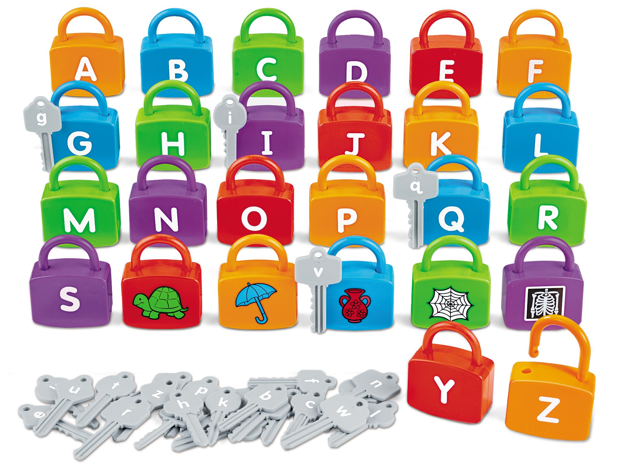 Lakeshore Alphabet Learning Locks
