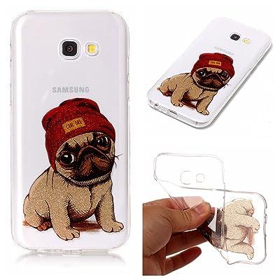 Hozor Samsung Galaxy A5 2017 / A520F cas de Téléphone, de haute qualité en silicone souple TPU, transparent anti-rayures anti-dérapant cas de téléphone, TPU Doux gommage en silicone e