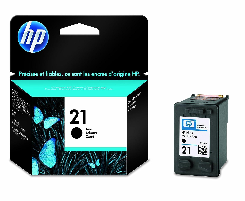 HP N°21 Cartouche d encre d origine Noir  Amazon.fr  Fournitures de bureau 4a62a68a6334