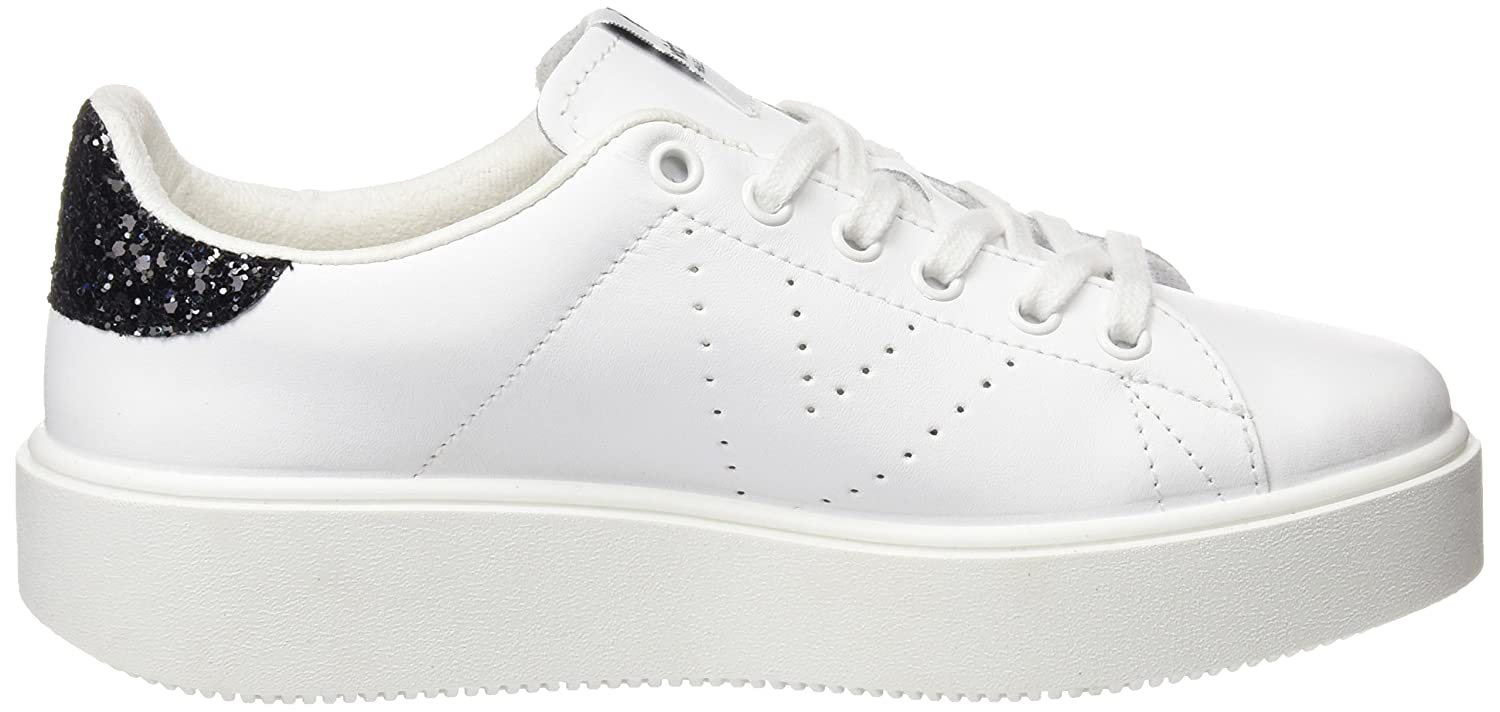 victoria Unisex Adults Deportivo Piel Trainers White
