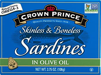 Crown Prince Skinless & Boneless in Olive Oil