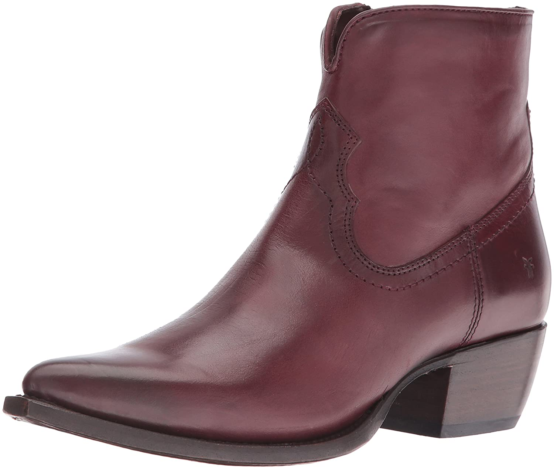 FRYE Women's Shane Short Western Boot B01BNWROBQ 9 B(M) US|Bordeaux