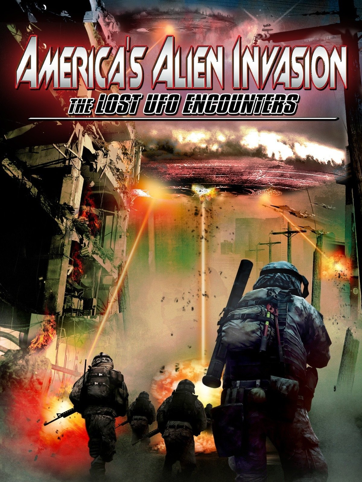 America's Alien Invasion: The Lost UFO Encounters on Amazon Prime Video UK
