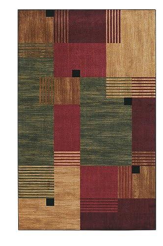 Mohawk Home New Wave Alliance Geometric Printed Area Rug, 6 x 9, Multicolor