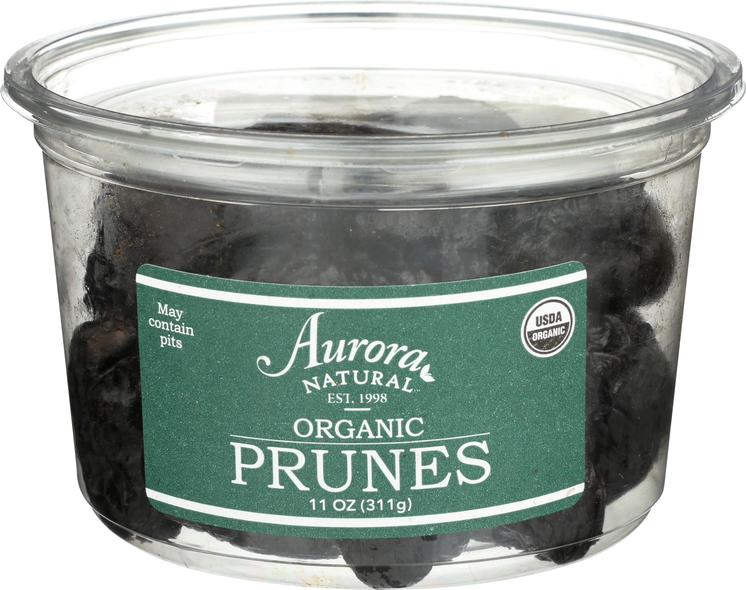 Aurora Products, Prunes Pitted Organic, 11 Ounce