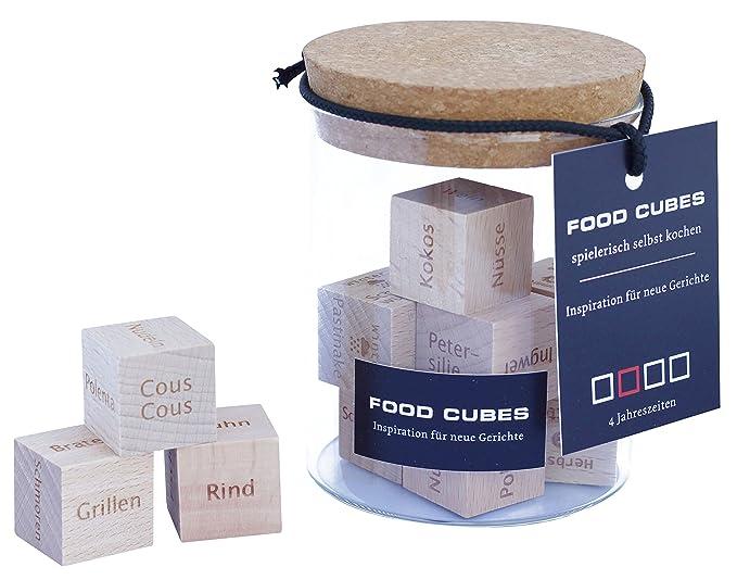amazon de food cubes inspiration fur neue gerichte mit dieser ausgefallenen geschenkidee mehr