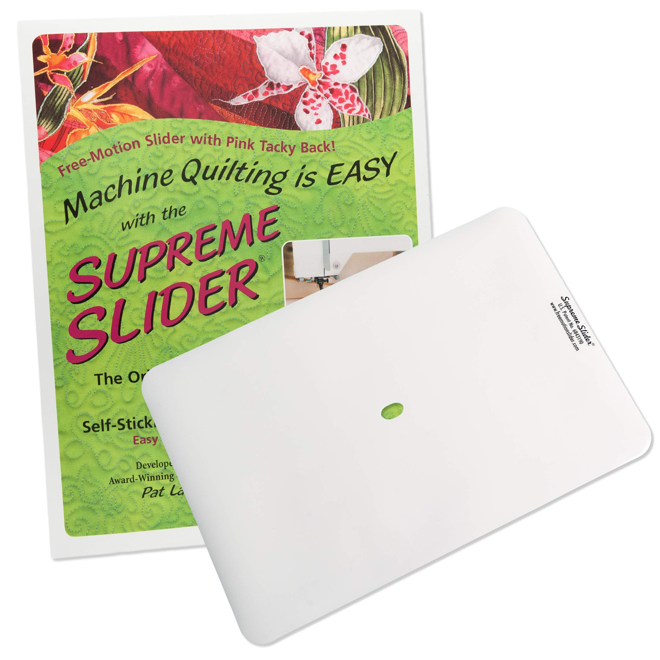 Supreme Slider Free Motion Quilting Supplies - Quilting Accessories | Quilting Notions | Quilting Slider Mat by LaPierre Studio
