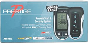 Prestige APS997Z 2-Way 5-Button LCD Remote Control w/ 1 Mile Operating Range