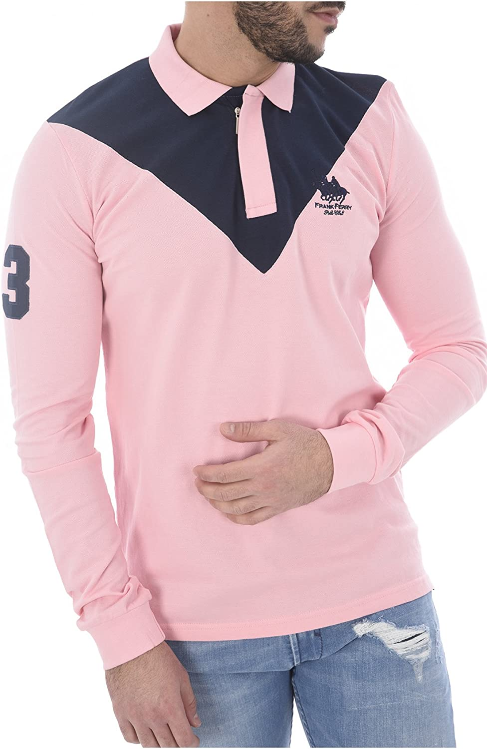Polo manga larga (3XL): Amazon.es: Ropa y accesorios