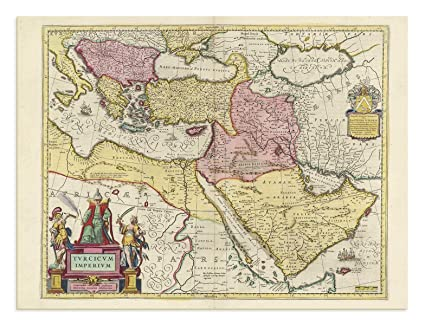 Amazon.com: The Blaeu Prints   Middle East, Country Map ... on map of world greece, map of italy greece, map of cyprus greece, map of balkans greece, map of mediterranean sea greece, map of the mediterranean greece, map of troy greece, map of macedonia greece, map of north east greece, map of middle egypt, geography greece, map of mecca greece, map of turkey greece, map of hungary greece, map of alexandria greece, map of ancient greece,