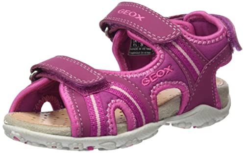 Geox Girls Jr Sandal Roxanne D Closed Toe Sandals