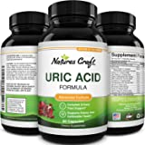 Uric Acid Kidney Support Vitamins for Men and Women – Herbal Cleanse Detox for Joint Comfort Muscle Recovery Pure Tart Cherry