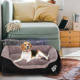 PUPPBUDD Dog Bed for Large Dogs Washable
