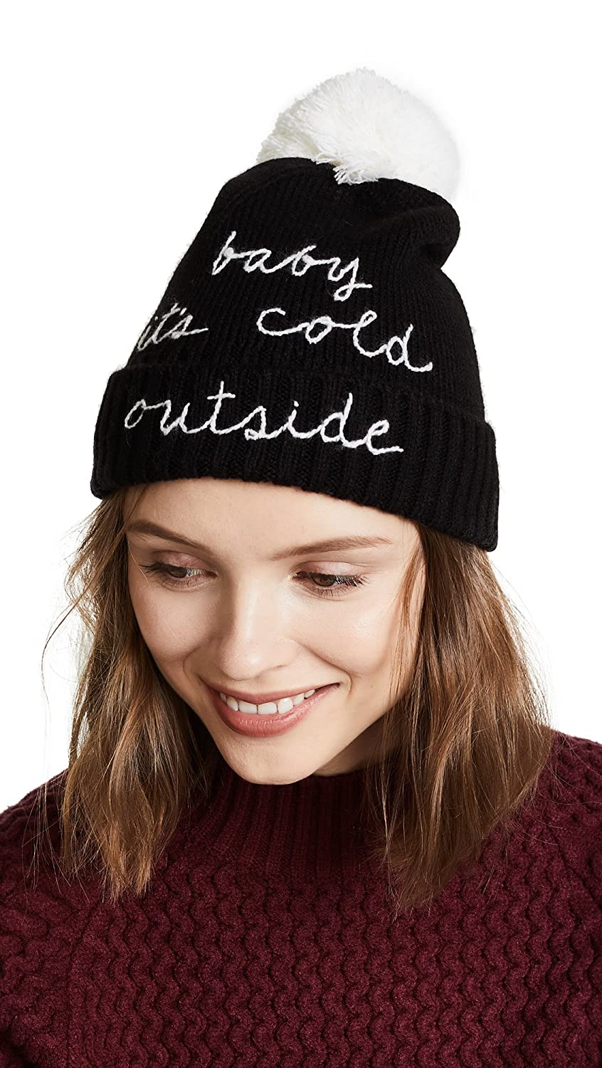 Kate Spade New York Women's Baby Its Cold Outside Beanie