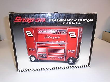 Amazon com: Snap On 1:8 Scale Dale Earnhardt Jr  Pit Wagon Die Cast