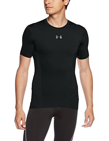 Under Armour Heat Gear Supervent Men's Round Neck Active Base Layer Shirt Casual Shirts at amazon
