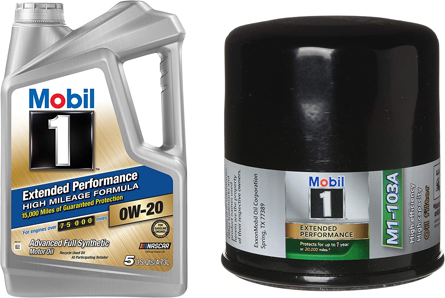 2 Pack Mobil 1 M1-103A Extended Performance Oil Filter