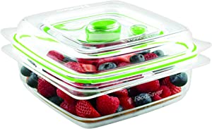 Foodsaver Fresh Food Vacuum Storage Container, 700ml, BPA-Free, Stackable,