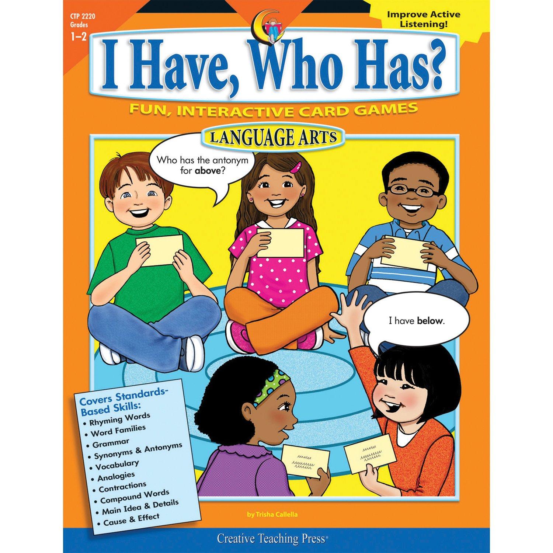 Amazon com: Creative Teaching Press CTP2220 I Have, Who Has