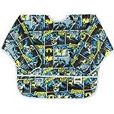 Bumkins DC Comics Waterproof Sleeved Bib, Batman Comic (6-24 Months)
