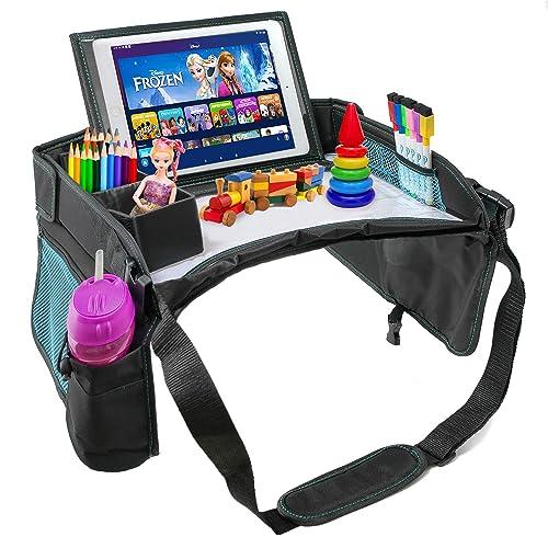 EverythingINplace Kids Car Seat Travel Tray