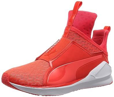 zapatillas puma de mujer rojas